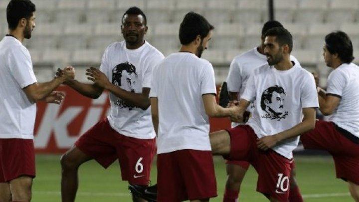 المنتخب القطري لكرة القدم يواجه عقوبات إثر ارتداء لاعبيه قمصان تدعم أمير البلاد