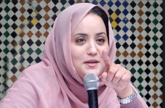 مقربون من حسناء أبو زيد يروجون الإشاعات ومنصب رئيس المجلس الإقتصادي والاجتماعي فوق المزايدات
