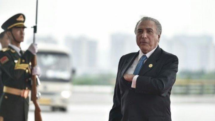 اتهام الرئيس البرازيلي ميشال تامر بتلقي رشوة بمبالغ كبيرة