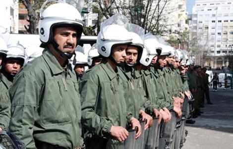 وزارة الداخلية تكذب كل ما راج من إشاعات حول القوات المساعدة بالريف