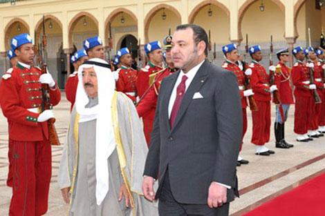 رسالة شفوية إلى أمير دولة الكويت من الملك محمد السادس