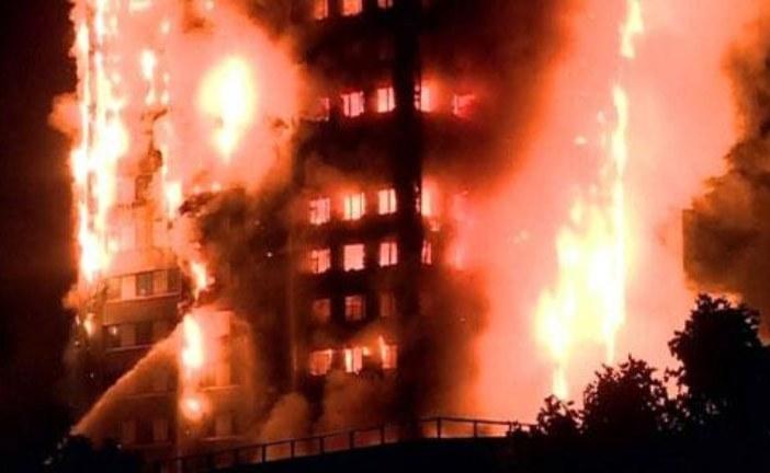 الشرطة البريطانية تعتبر عددا كبيرا من المفقودين في حريق لندن قتلى
