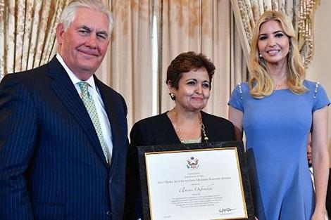 تكريم المغرب بواشنطن بحضور إيفانكا ابنة ترامب
