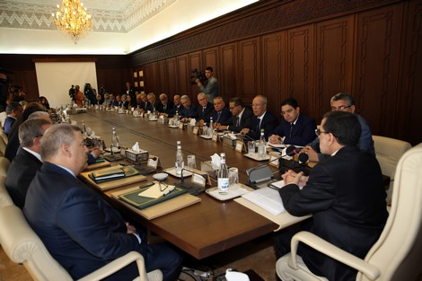 العثماني يطالب الوزراء بضرورة التنسيق لتنفيذ المشاريع بمختلف المناطق وليس الحسيمة وحدها