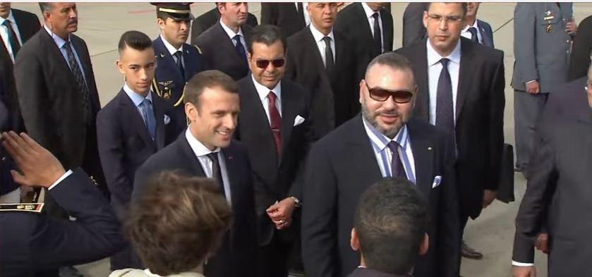 الملك يهنئ الرئيس الفرنسي بالعيد الوطني لبلاده