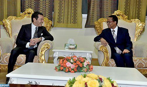 الأمير مولاي رشيد يصل إلى أديس ابابا لتمثيل الملك في القمة الـ29 للاتحاد الإفريقي