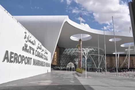 حالة استنفار أمني بمطار مراكش المنارة بعد الاشتباه في أحد المسافرين