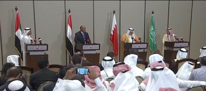 وزارء خارجية دول المقاطعة يتمسكون بمطالبهم الموجهة إلى قطر