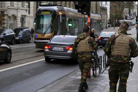 اعتقال 4 أشخاص والعثور على مخبأ أسلحة في العاصمة البلجيكية