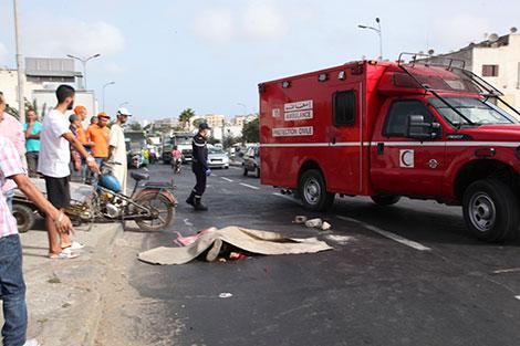 وفاة شخصين وإصابة 8 آخرين في حادث سير بالخميسات