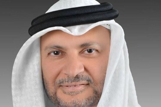 """تصعيد جديد… وزير الدولة للشؤون الخارجية بدولة الإمارات العربية المتحدة يجلد قناة """"الجزيرة"""" بسبب ترويج """"الفكر المتطرف"""""""