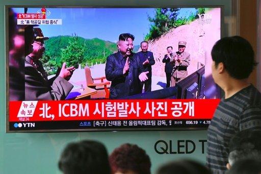 وزير الخارجية الأمريكي يؤكد إطلاق كوريا الشمالية صاروخا عابرا للقارات