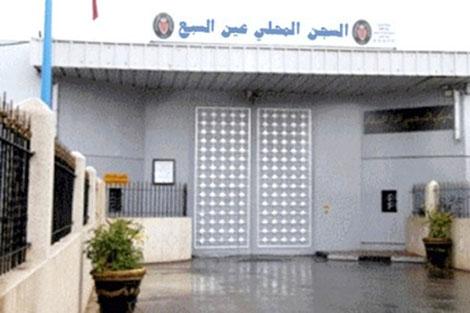 التحقيق مع سوريين معتقلين بسجن عكاشة بالدار البيضاء