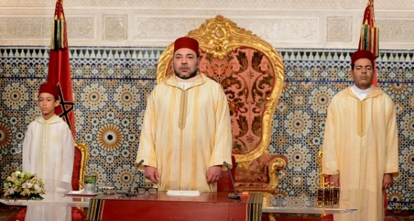 الملك محمد السادس يوجه خطاب العرش مساء اليوم السبت