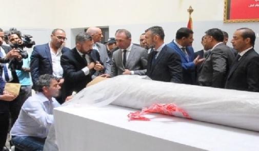 المغرب يسلم إيطاليا لوحة فنية تاريخية مسروقة من إحدى كنائسها
