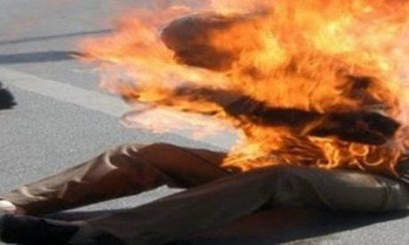 شخص يضرم النار في جسده بمدينة الحسيمة