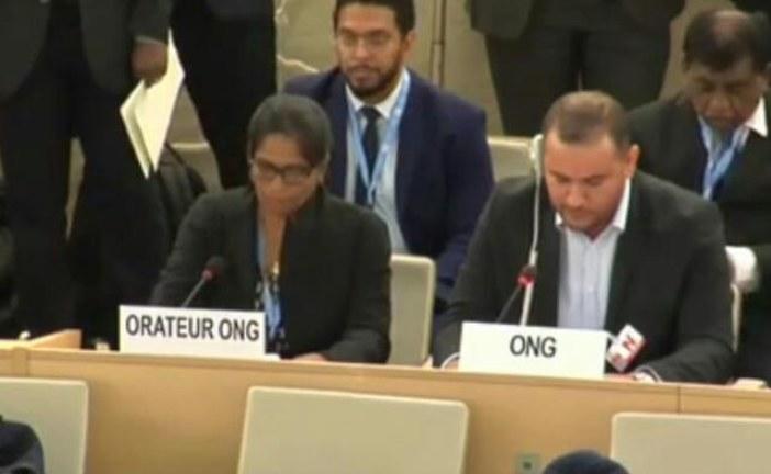 حقوقيون يقصفون البوليساريو والجزائر بجنيف ويفضحون انتهاكات حقوق الانسان في تندوف