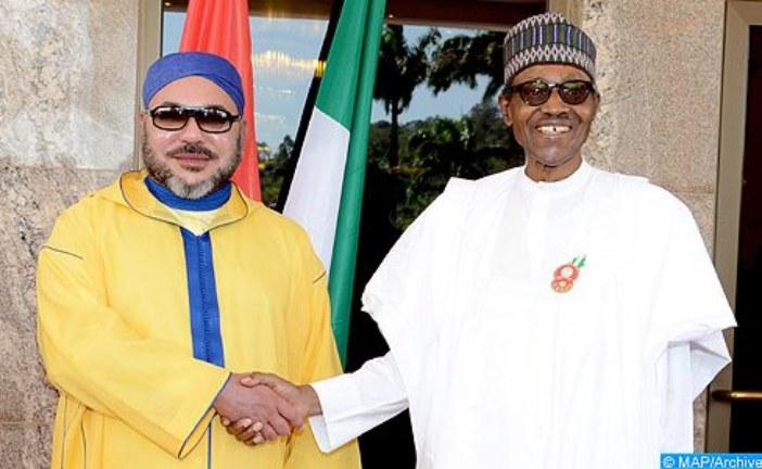 الملك يجري مباحثات هاتفية مع الرئيس النيجيري