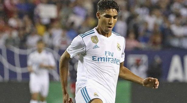 أشرف حكيمي أول لاعب مغربي يسجل هدفا في تاريخ الريال
