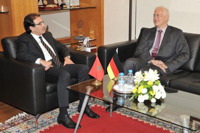 بنعتيق يستقبل السفير الألماني بالمغرب