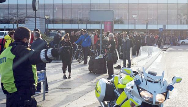 إغلاق محطة بمطار كوبنهاغن بسبب وجود أمتعة مشبوهة
