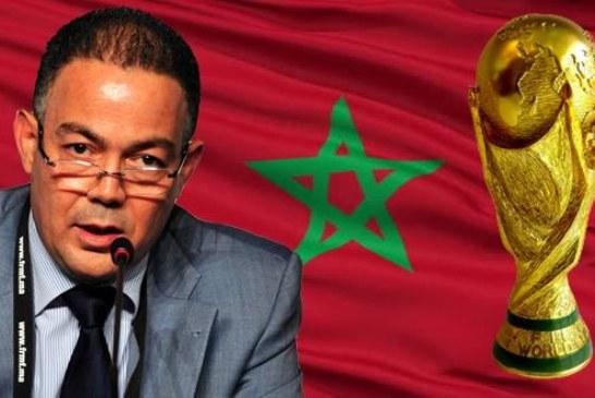 """لقجع يكشف عن حظوظ المغرب في احتضان """"مونديال 2026"""""""