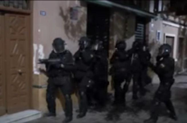 شاهد عملية إسقاط الخلية الإرهابية بعد تنسيق أمني مغربي إسباني محكم