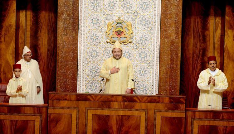 الملك يترأس افتتاح دورة البرلمان ويلقي خطابا