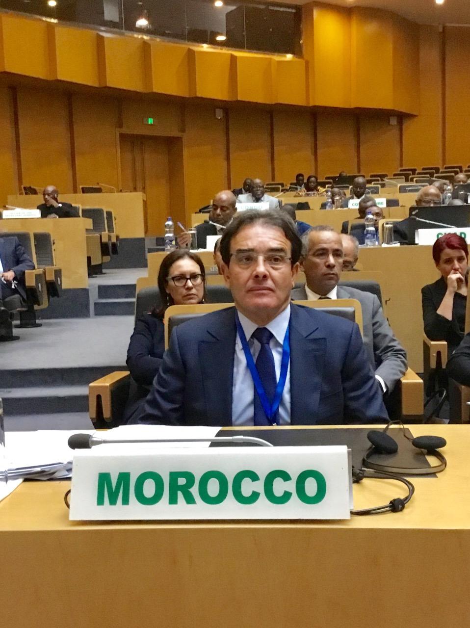 """بنعتيق: المغرب يدعو بقوة إلى إرساء شراكة """"متوازنة"""" بين الاتحادين الإفريقي والأوروبي"""