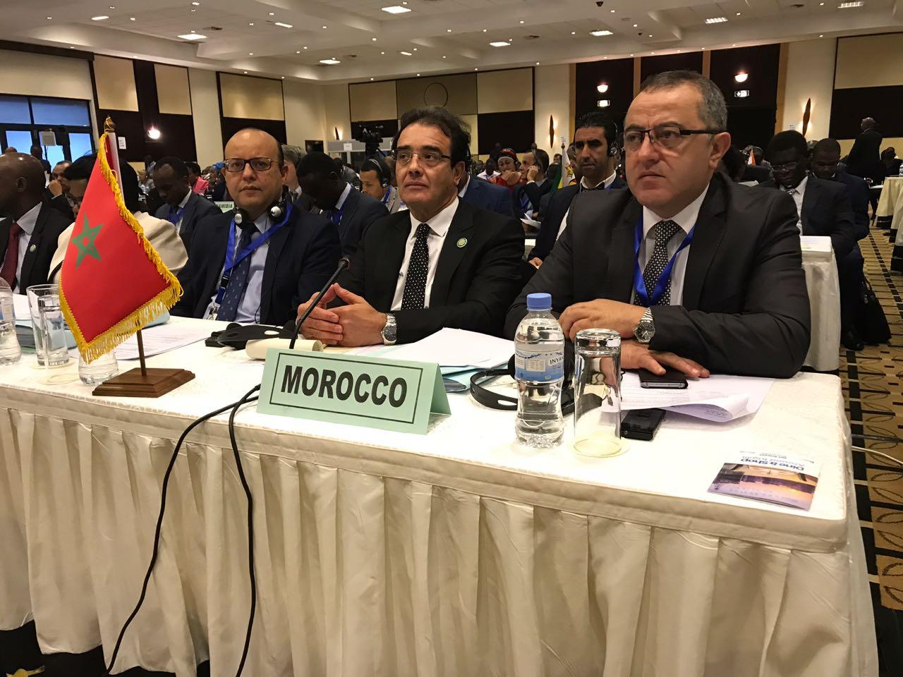 بنعتيق يحقق انتصارا لفائدة المغرب في أشغال اللجنة المتخصصة في الهجرة واللجوء والأشخاص النازحين للاتحاد الإفريقي