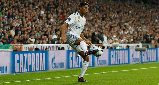 أشرف حكيمي أساسيا في قائمة ريال مدريد أمام خيرونا
