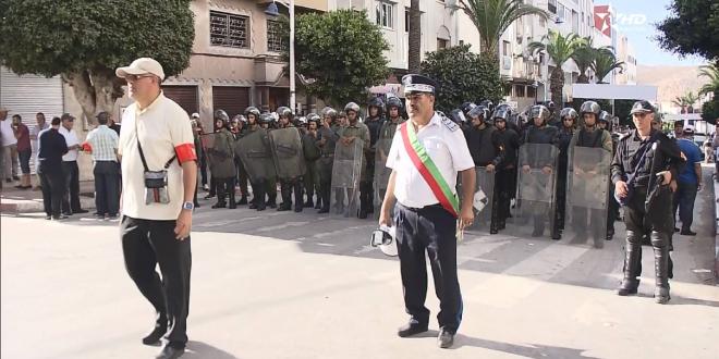 السلطات تمنع التظاهر أيام 27 و 28 بالحسيمة وتحذر من دعوات مجهولة للاحتجاج