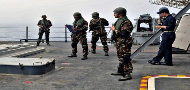 البحرية الملكية تشارك في مناورات غير مسبوقة مع الأمريكان في إفريقيا