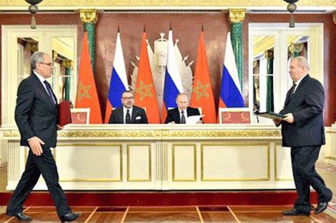 لقاءات رفيعة بين مسؤولين مغاربة وروس والاقتصاد ضمن الأجاندا