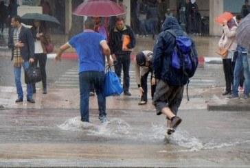 توقعات طقس الخميس… زخات مطرية ورعدية بعدة مدن