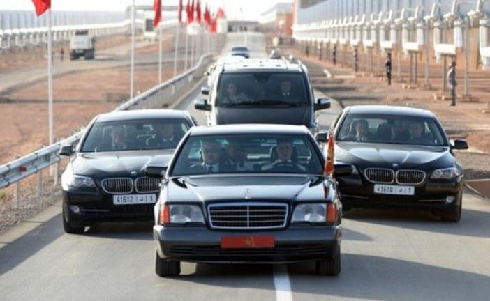 عرقلة سير الموكب الملكي تطيح بثلاثة أمنيين بمدينة الرباط