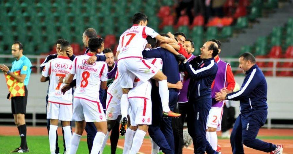 الوداد البيضاوي المغربي يواجه الأهلي المصري بهذه التشكيلة