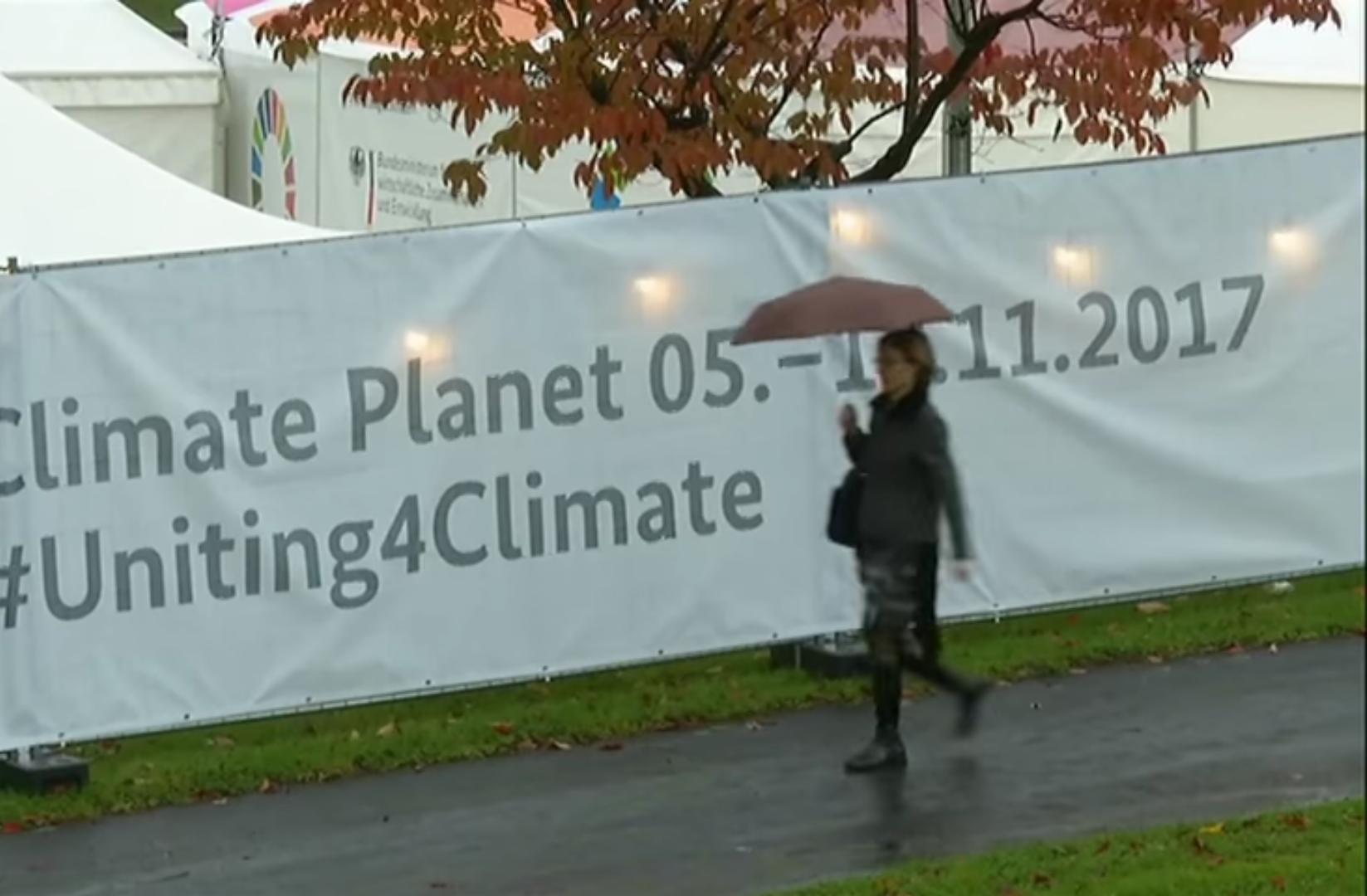 افتتاح قمة المناخ 23 في ألمانيا ودعوات لمكافحة الاحتباس الحراري