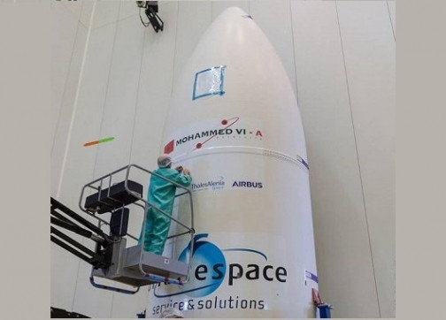على بعد ساعات… وضع آخر اللمسات لإطلاق القمر الاصطناعي محمد السادس + فيديو