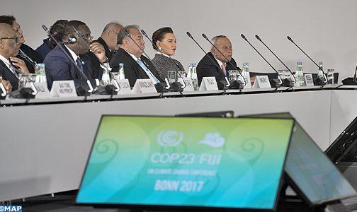 الاميرة للا حسناء تمثل جلالة الملك في مراسم افتتاح الشق الرفيع المستوى لمؤتمر كوب 23