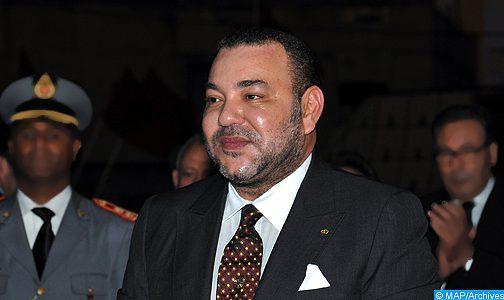 الملك يصل إلى مكان انعقاد القمة الخامسة للاتحاد الإفريقي الاتحاد الأوروبي بأبيدجان