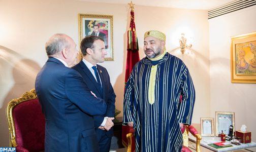 القمة الخامسة الاتحاد الإفريقي- الاتحاد الأوروبي … الملك يستقبل بأبيدجان رئيس الجمهورية الفرنسية