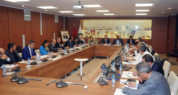 قرارات حاسمة في اجتماع المكتب المديري للجامعة الملكية المغربية لكرة القدم