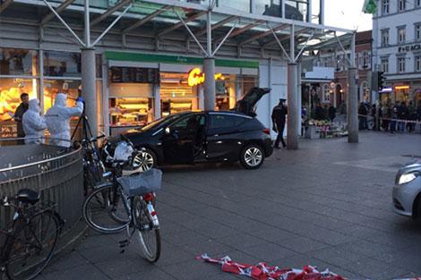 سقوط 6 جرحى في عملية دهس بالسيارة قرب ملهى ليلي بألمانيا