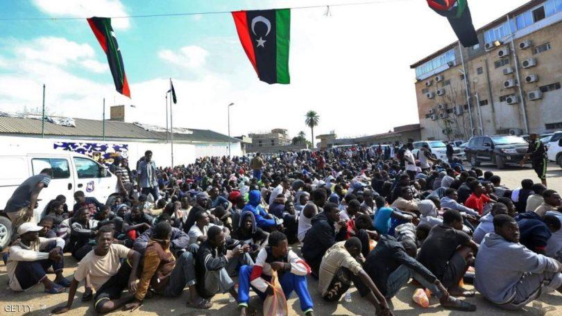 ضغوط فرنسية لفرض عقوبات لمكافحة الاتجار بالبشر في ليبيا