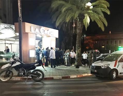 اعتقال 6 اشخاص على صلة بحادث إطلاق النار على رواد مقهى بمراكش