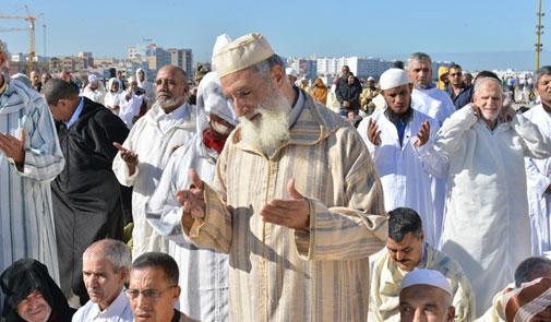 إقامة صلاة الاستسقاء بعدد من مدن المغرب طلبا لأمطار الخير