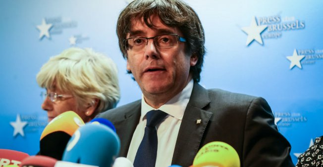 بلجيكا ستدرس مذكرة التوقيف بحق الرئيس الكاتالوني المقال