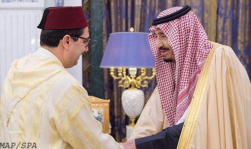 رسالة خطية من الملك محمد السادس إلى العاهل السعودي