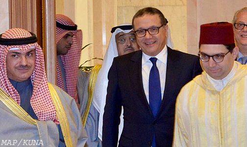 رسالة خطية من الملك إلى أمير دولة الكويت